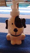 Dog Ceramic Soap Dispenser