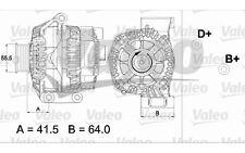 VALEO Alternador FIAT PUNTO PANDA IDEA FIORINO 500 LANCIA MUSA YPSILON 437475