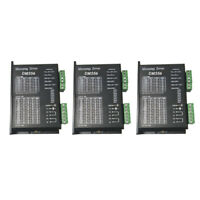 3 Digital DM556 42/57 2 Phase Stepper Motor Driver Controller 24-50VDC