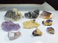 interesting collection cubic lot of flourite from pakistan balochistan 1965 g