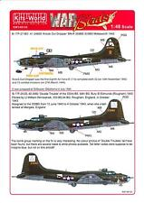 Kits World Decals 1/48 B-17F FLYING FORTRESS Knock Out Dropper & Double Trouble