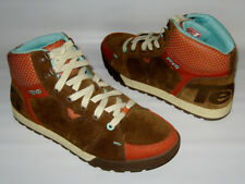 NEW TEVA KAYODE MID BROWN SUEDE HIGH TOP SNEAKERS SHOES MENS 9