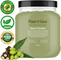 Neem Powder 2 lb. Jar Bulk Dried Leaf 100% Pure Raw Leaves (Azadirachta indica)