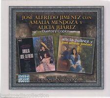 SEALED 3 CD's Jose Alfredo Jimenez y Amalia Mendoza CD Tesoros De Coleccion NEW