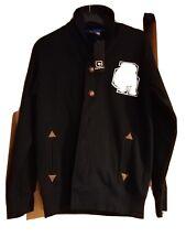 Bnwt Boys Size L 12/13 yes carbrini  Black jacket/cardi With Badges