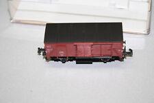 Fleischmann 8350 2-Achser gedeckter Güterwagen G10 DR Spur N OVP