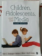 Children, Adolescents, and the Media by Victor C. Strasburger (English)