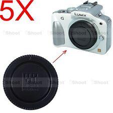 5x Camera Body Cover Cap for Panasonic Micro Four Thirds M4/3 LUMIX GF2 GF3 GF5