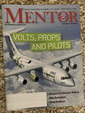 The Professional Flight Instructor Mentor Magazine September/October 2019