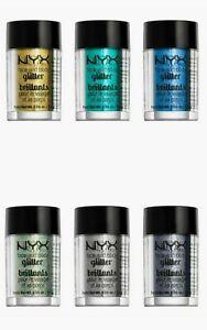 NYX Glitter Brillants Face & Body Choose Your Color
