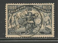 Portugal #109 (A48) Vf Used - 1894 1000r Symbolic of Prince Henry's Studies