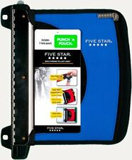 Five Star Punch 'n Pouch Pencil Case w/ 3-Hole Punch for Binder (50896)