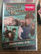The Legend of Korra: Book One - Air (DVD, 2013, 2-Disc Set) Promo w/ Bonuses NIP