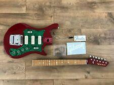 Ussr Soviet Relic Electric Guitar Strat Style & Fender & Gibson sticker / xfer