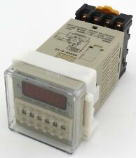 DH48S-S AC 220V repeat cycle SPDT time delay relay / timer with socket