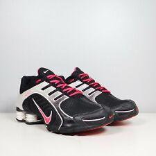 Nike Shox 356918-060 Women's Shoes Size 8  Black Pink White