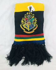 Harry Potter Winter Scarf Hogwarts Stripe Universal Studios NWT