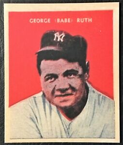 1932 US Caramel #32 Babe Ruth Reprint - Mint Condition - New York Yankees