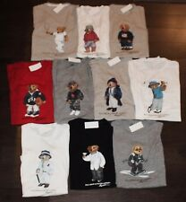 NWT Complete 10 Tees 2017 YEAR OF THE POLO BEAR T-Shirt Lot Men 2XL XXL New Pony