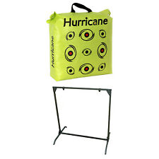 Hurricane H-20 Deer Archery Target w/ Hme Bowhunting 30 Inch Bag Target Stand