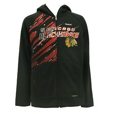 Chicago Blackhawks Youth Kids Size NHL Official Zip Up Sweatshirt New With Tags