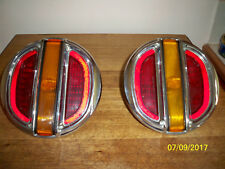 FORD FALCON XT TAILIGHTS AND XR STEERING WHEEL WITH GALAXY HORN RING