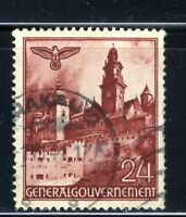 1940-41 Germany Poland General Gov't WWII ⚔️HITLER NAZI Occupation 24pf