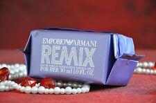 emporio armani remix for her edp 30 ml., abgebrochen, rarität, versiegelt