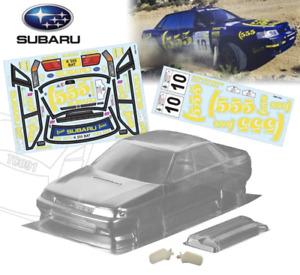 Subaru Legacy WRC 190mm Tamiya TT01 TT02 XV01 257mm