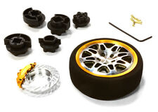 C26403GUNGOLD D8S Steering Wheel Set for Most HPI, Fut, Air, Hitec KO
