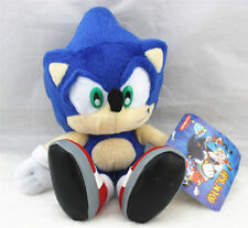 Sonic The Hedgehog Blue Tails Plush Doll Stuffed Figure Toy 8 inch Xmas Gift