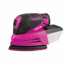 The Original Pink Box 12V Cordless Mouse Sander includes 3 sanding papers