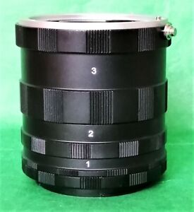 Macro Extension Tube Set for Extreme Close-up Imaging for Canon EOS,BN