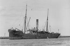 PUKAKI Union Steam Ship Co, New Zealand 1915 modern digital Photo Postcard