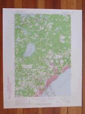 Duluth Minnesota 1959 Original Vintage USGS Topo Map