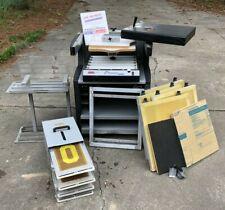 Press A Print Precision Screen Printing System Exposure Module T Shirt Design