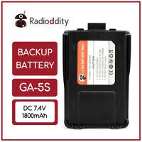 Original 1800mAh Li-ion Battery for Radioddity GA-5S HP Dual Band Two-way Radio