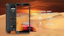 OUKITEL WP5 Android 10 IP68 étanche Smartphone 8000MAh visage/empreinte digital
