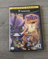 Spyro: A Hero's Tail COMPLETE 2004 Nintendo GameCube TESTED