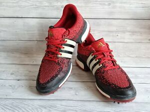 Adidas Tour 360 Prime Boost Mens Golf shoes. Ultra Rare Size 9 Black/ Red /white