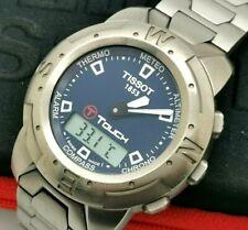 Men's TISSOT T TOUCH TITANIUM Z252/352 41mm Quartz Swiss Made Watch With Case