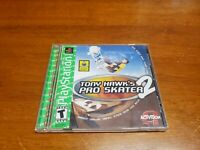 Tony Hawk's Pro Skater 2 (Sony PlayStation 1) PS1 Original Case & Manual Only