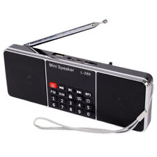 Mini Portable Rechargeable Stereo L-288 FM Radio Speaker LCD Screen Support M3L