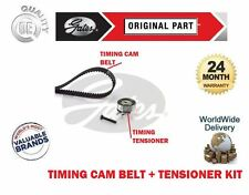 FOR VAUXHALL ASTRA VAN 1.6 8V 1998-2005 New GATES TIMING CAM BELT TENSIONER KIT