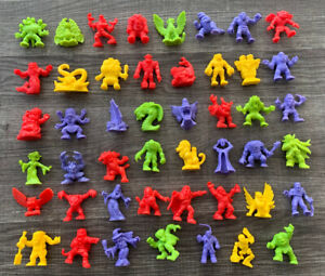 Vintage Matchbox 1990 MONSTER IN MY POCKET Series 1 Set of 47 Original Colors!