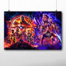Marvel Avengers: Endgame Wallpapwe printed Poster Canvas