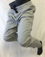 MENS TRUE ROCK GRAY JOGGER PANTS Draw String  S M L XL XXL NEW VICTOR 24 NWT