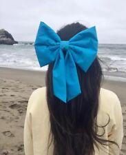 Little mermaid hair bow ARIEL Hair Bow Kiss The Girl BIG bow Disneyland Disney