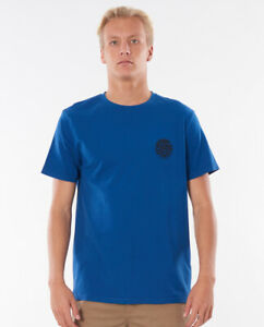 Rip Curl Wettie S/S Tee | Blue | Size S to 2XL