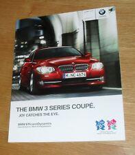 BMW SERIE 3 COUPE E92 OPUSCOLO 2011 325i 330i 335i 320d 325d 330d 335d M Sport